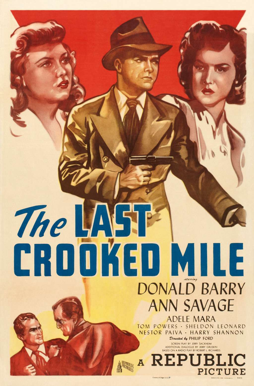 The Last Crooked Mile kapak