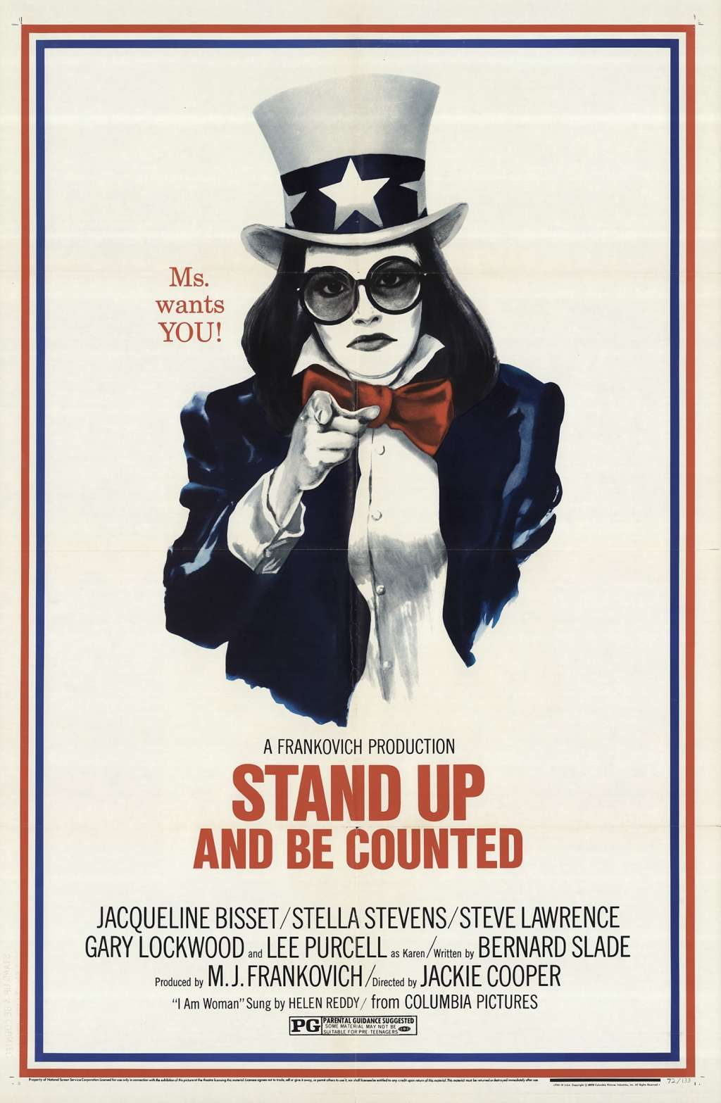 Stand Up and Be Counted kapak