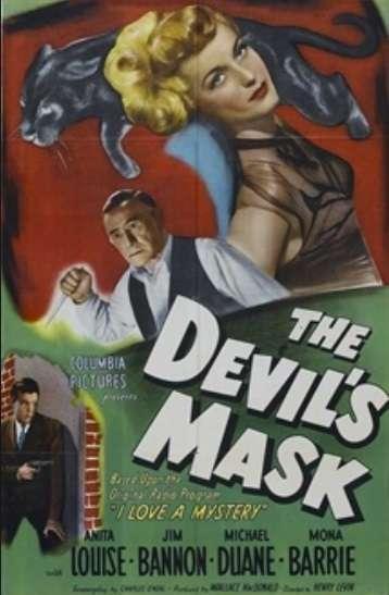 The Devil's Mask kapak