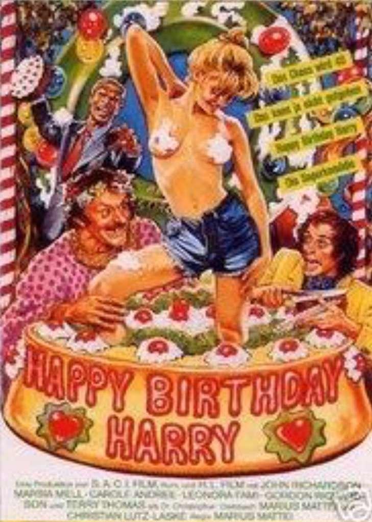 Happy Birthday, Harry kapak