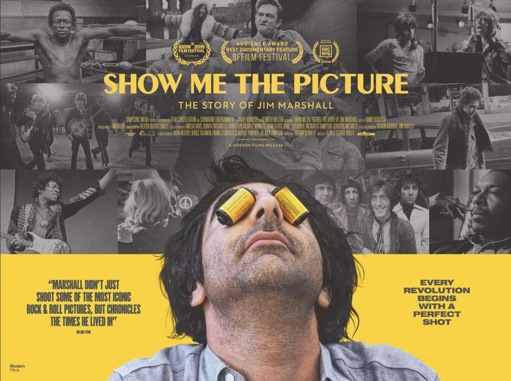 Show Me The Picture: The Story of Jim Marshall kapak