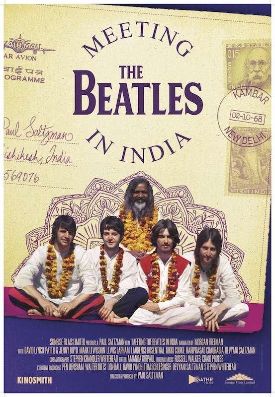 Meeting the Beatles in India kapak