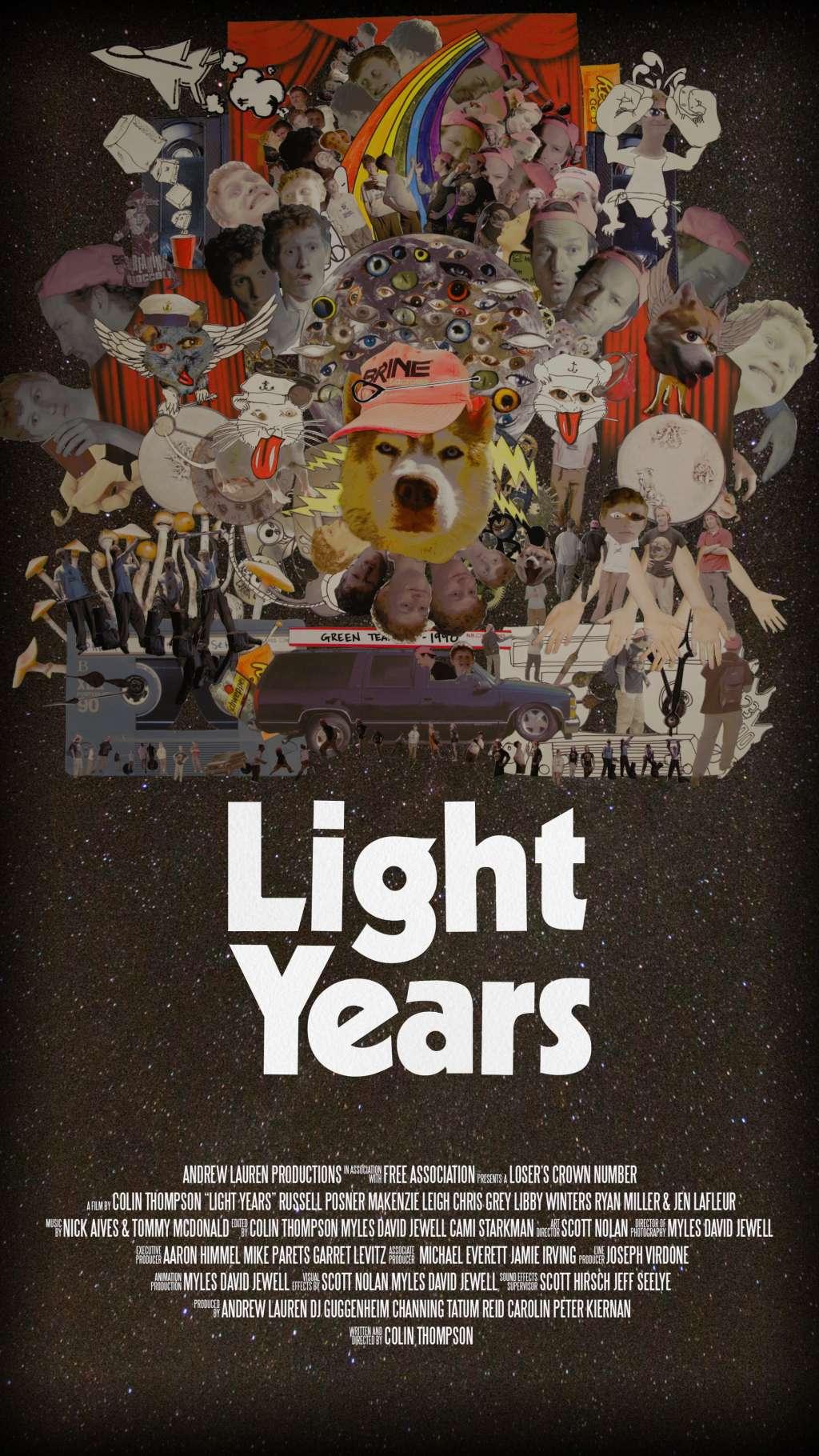 Light Years kapak