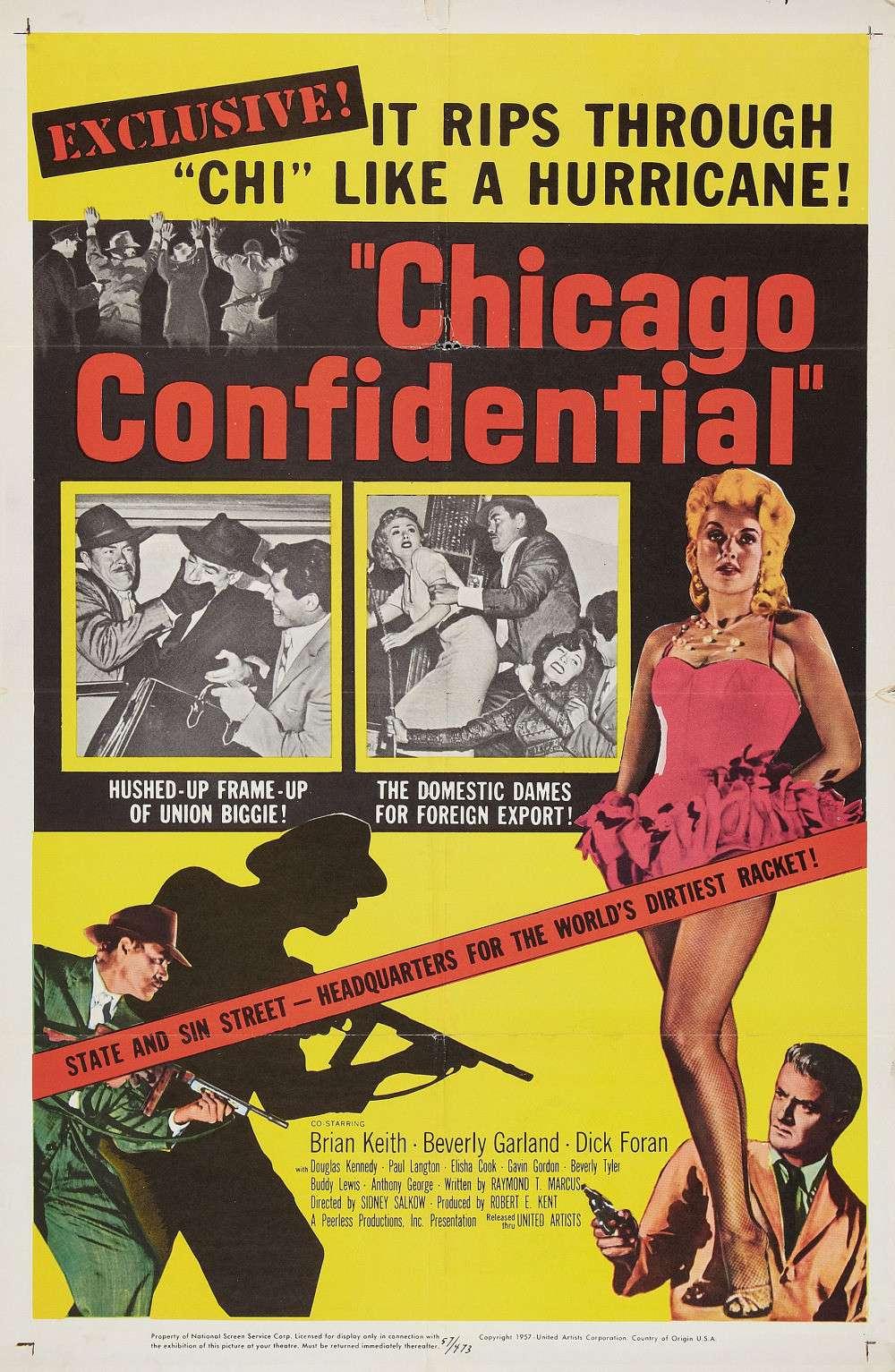 Chicago Confidential kapak