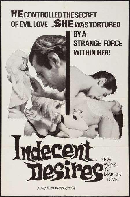 Indecent Desires kapak