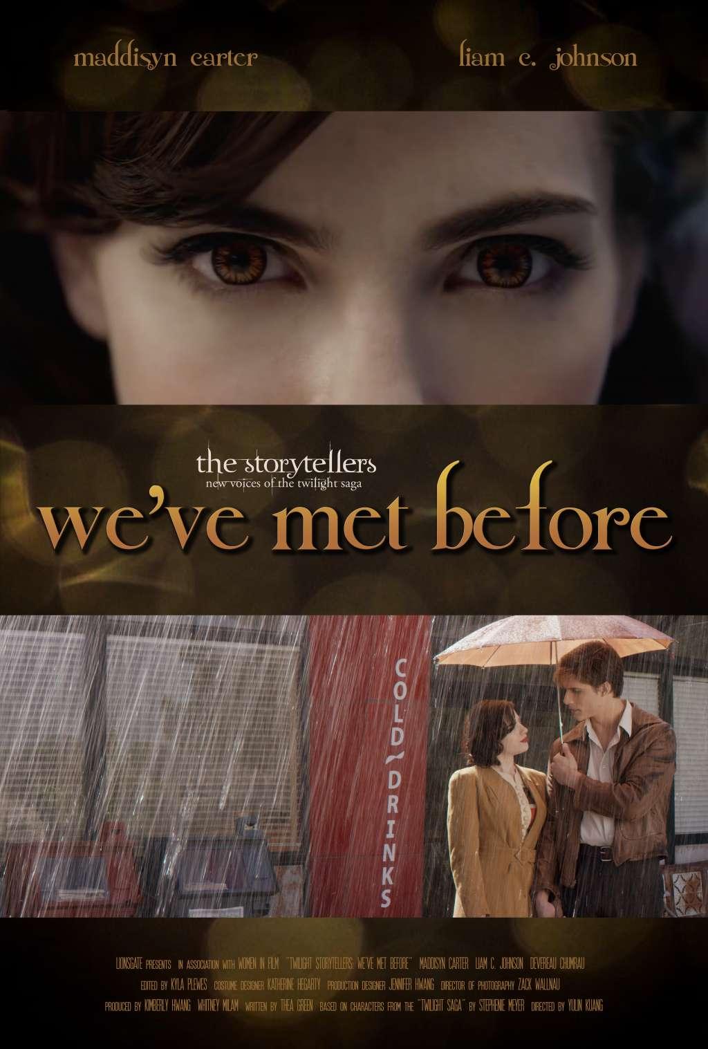 We've Met Before kapak