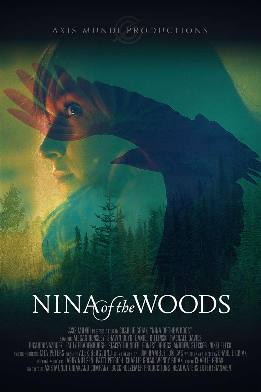 Nina of the Woods kapak