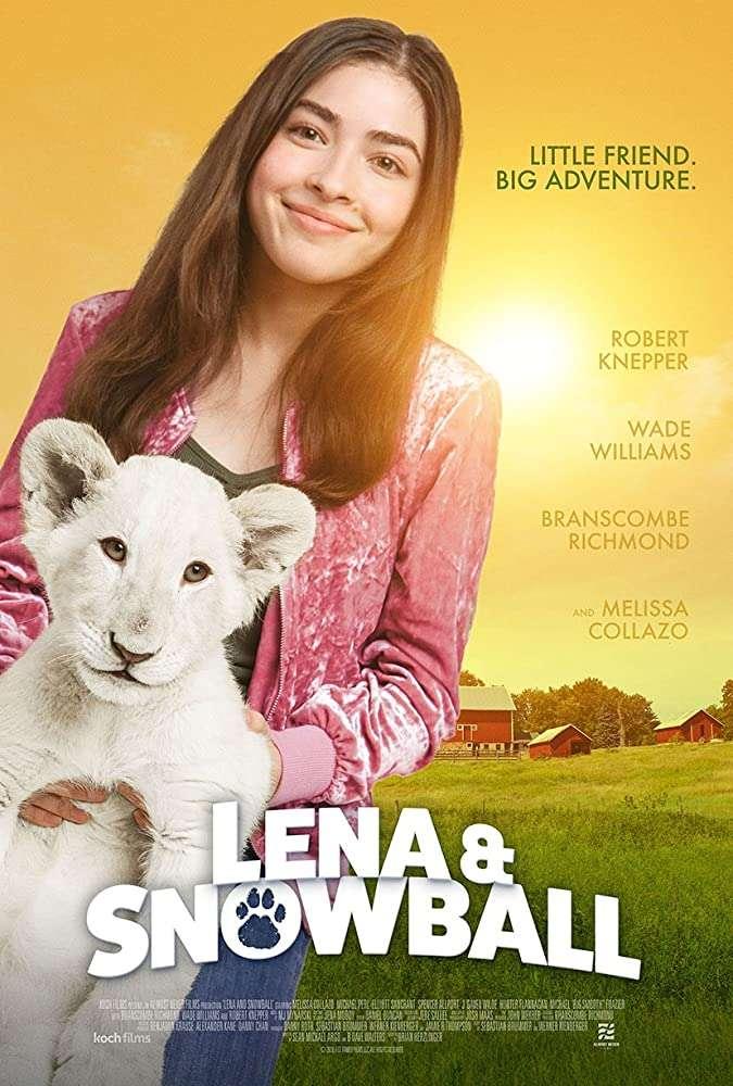 Lena and Snowball kapak