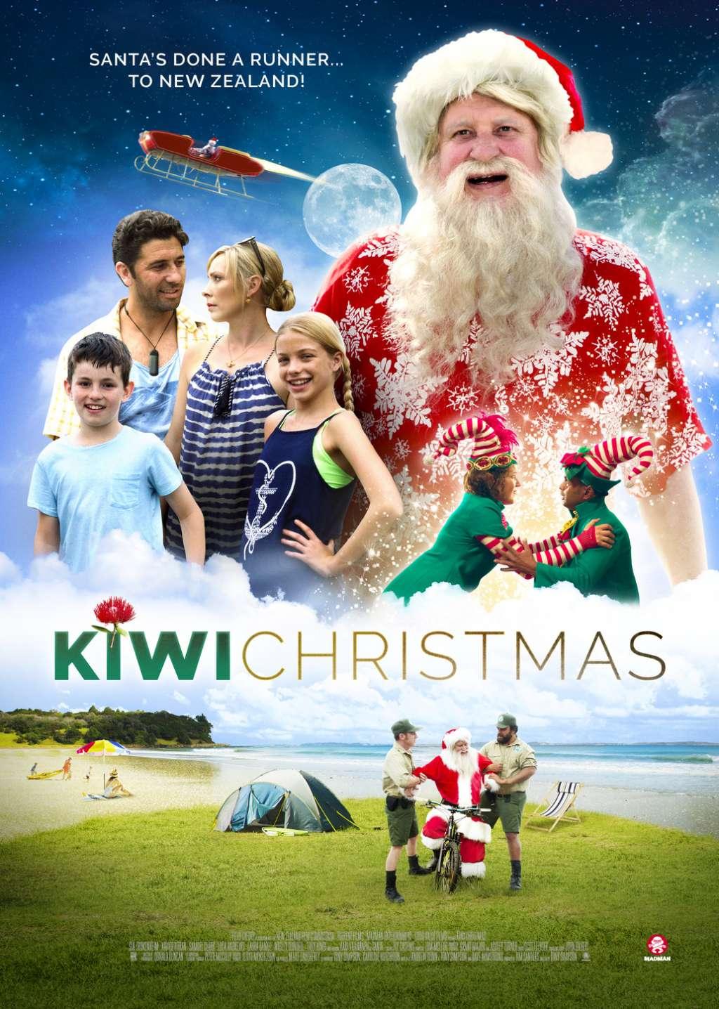 Kiwi Christmas kapak