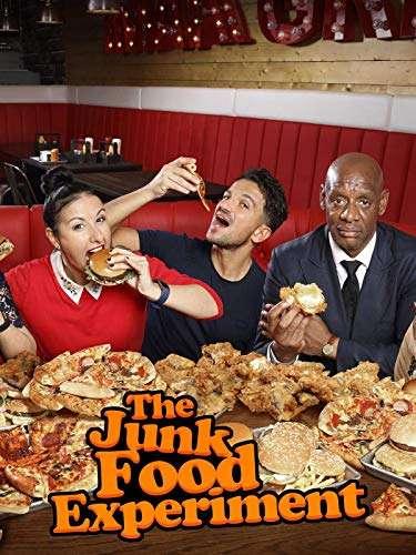 The Junk Food Experiment kapak