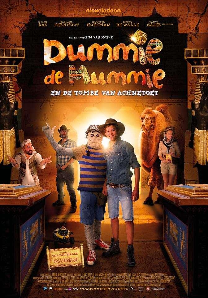 Dummie de Mummie en de tombe van Achnetoet kapak