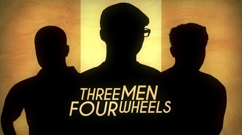 Three Men Four Wheels kapak