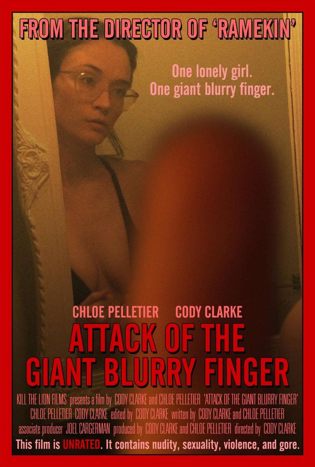 Attack of the Giant Blurry Finger kapak