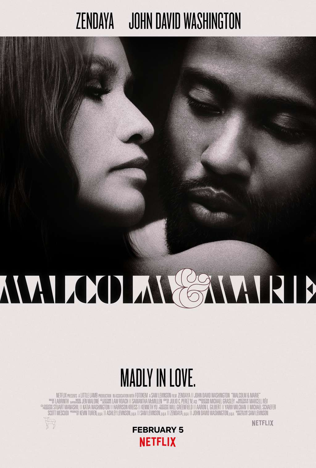 Malcolm & Marie kapak