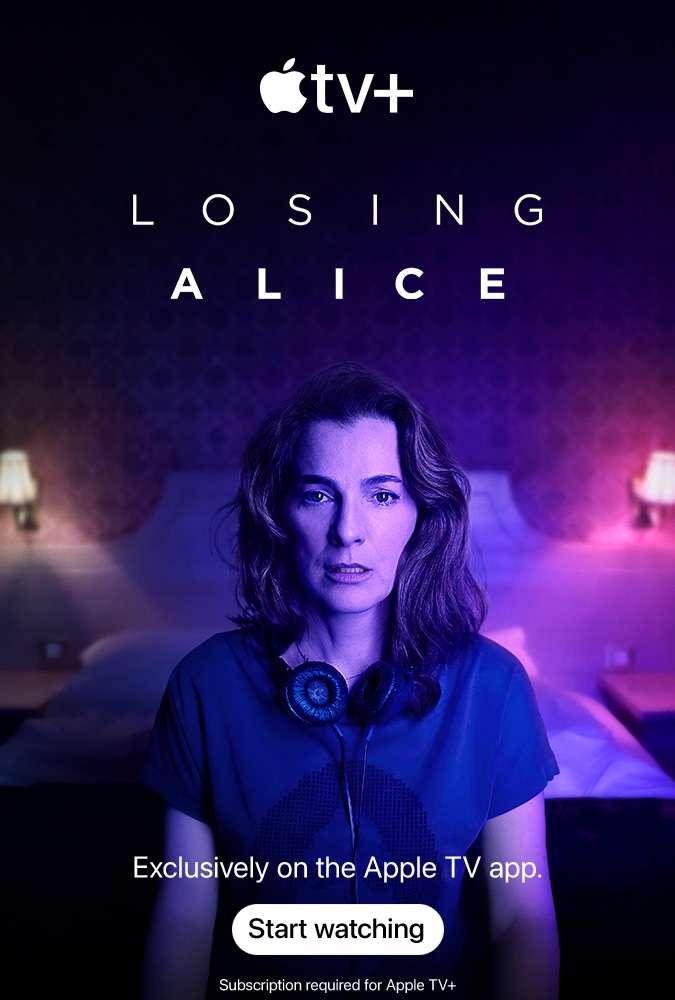 Losing Alice kapak