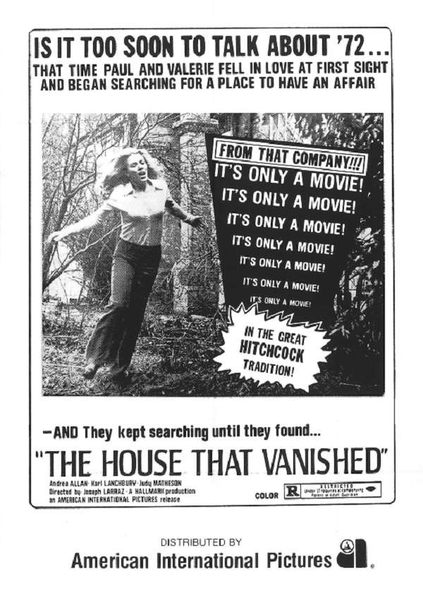 The House That Vanished kapak