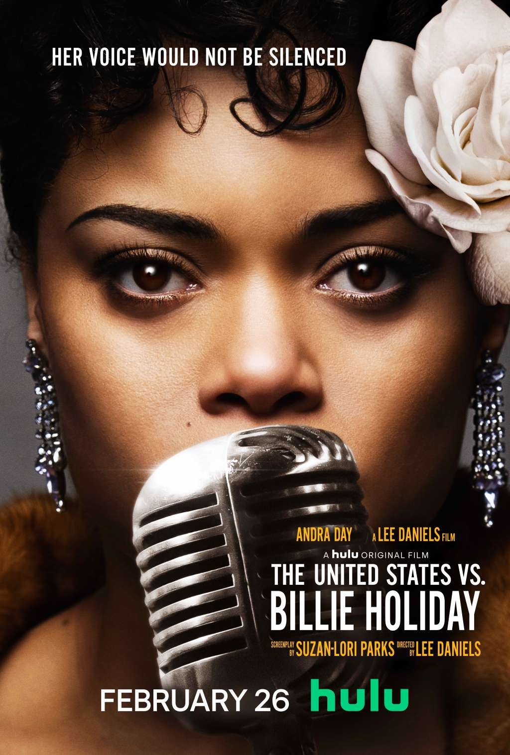 The United States vs. Billie Holiday kapak