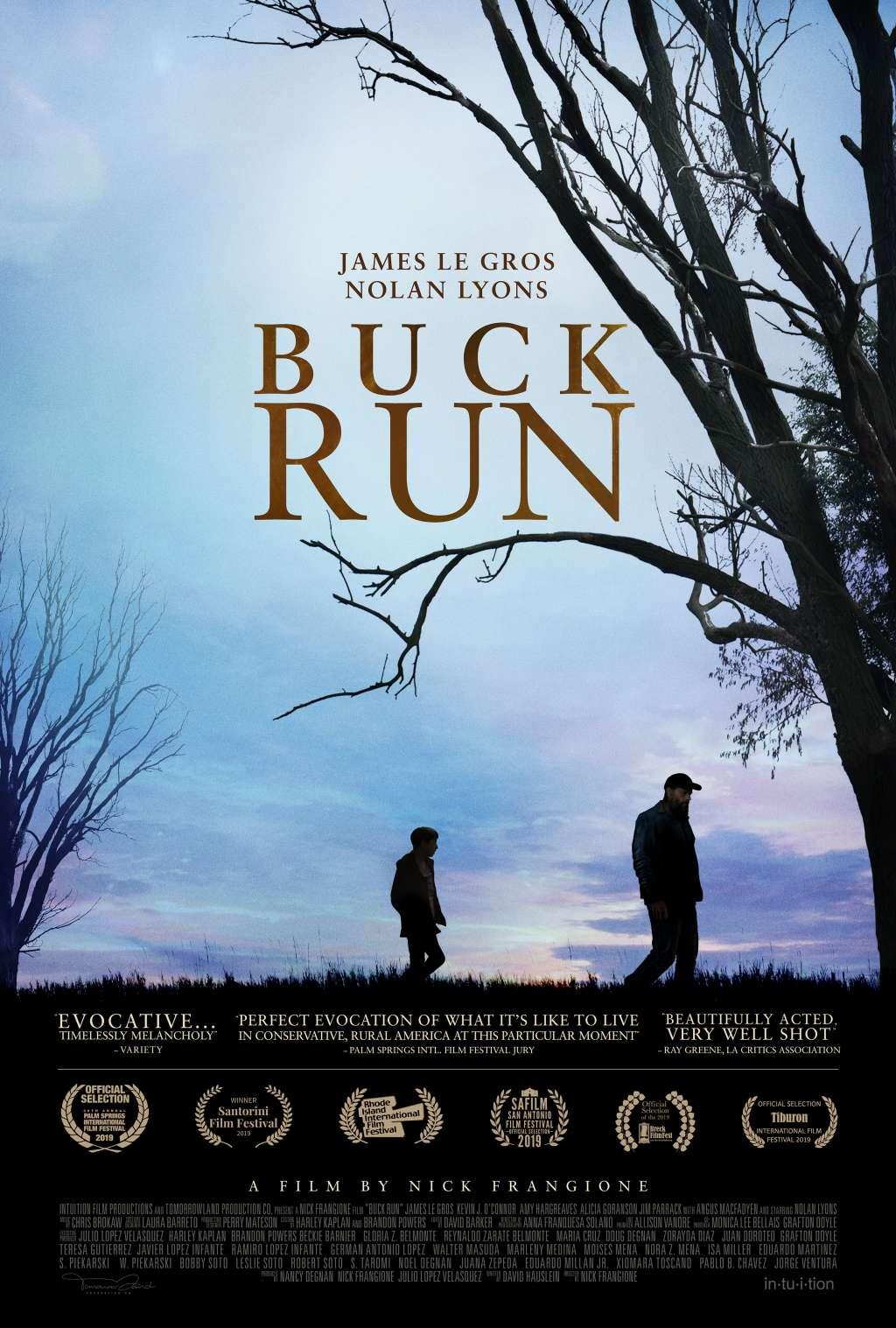 Buck Run kapak