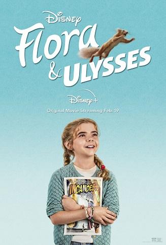 Flora & Ulysses kapak