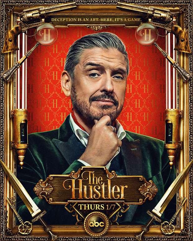The Hustler kapak