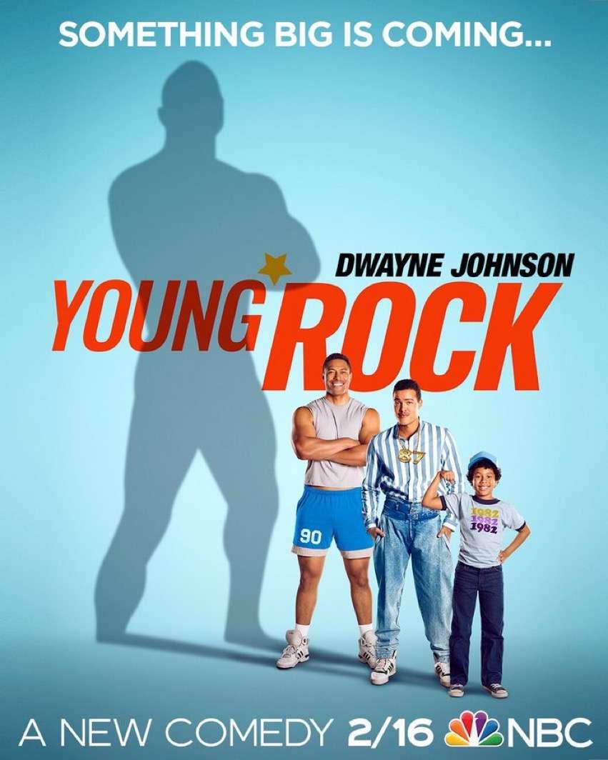 Young Rock kapak