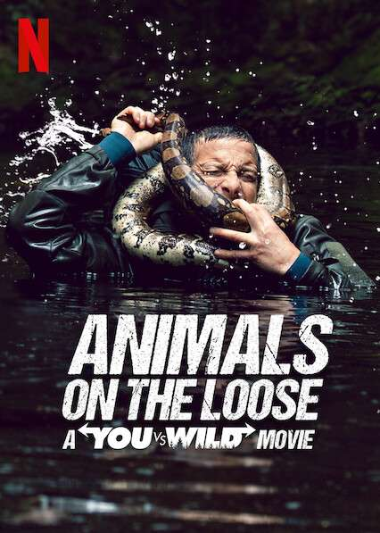 Animals on the Loose: A You vs. Wild Movie kapak