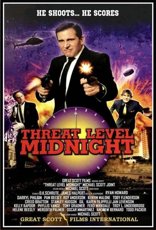 Threat Level Midnight: The Movie kapak
