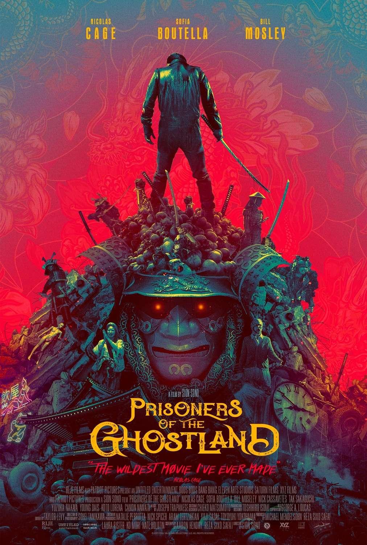 Prisoners of the Ghostland kapak