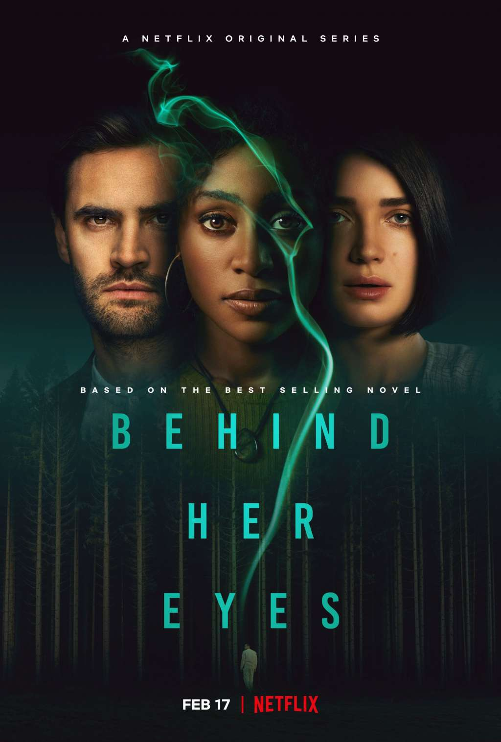 Behind Her Eyes kapak