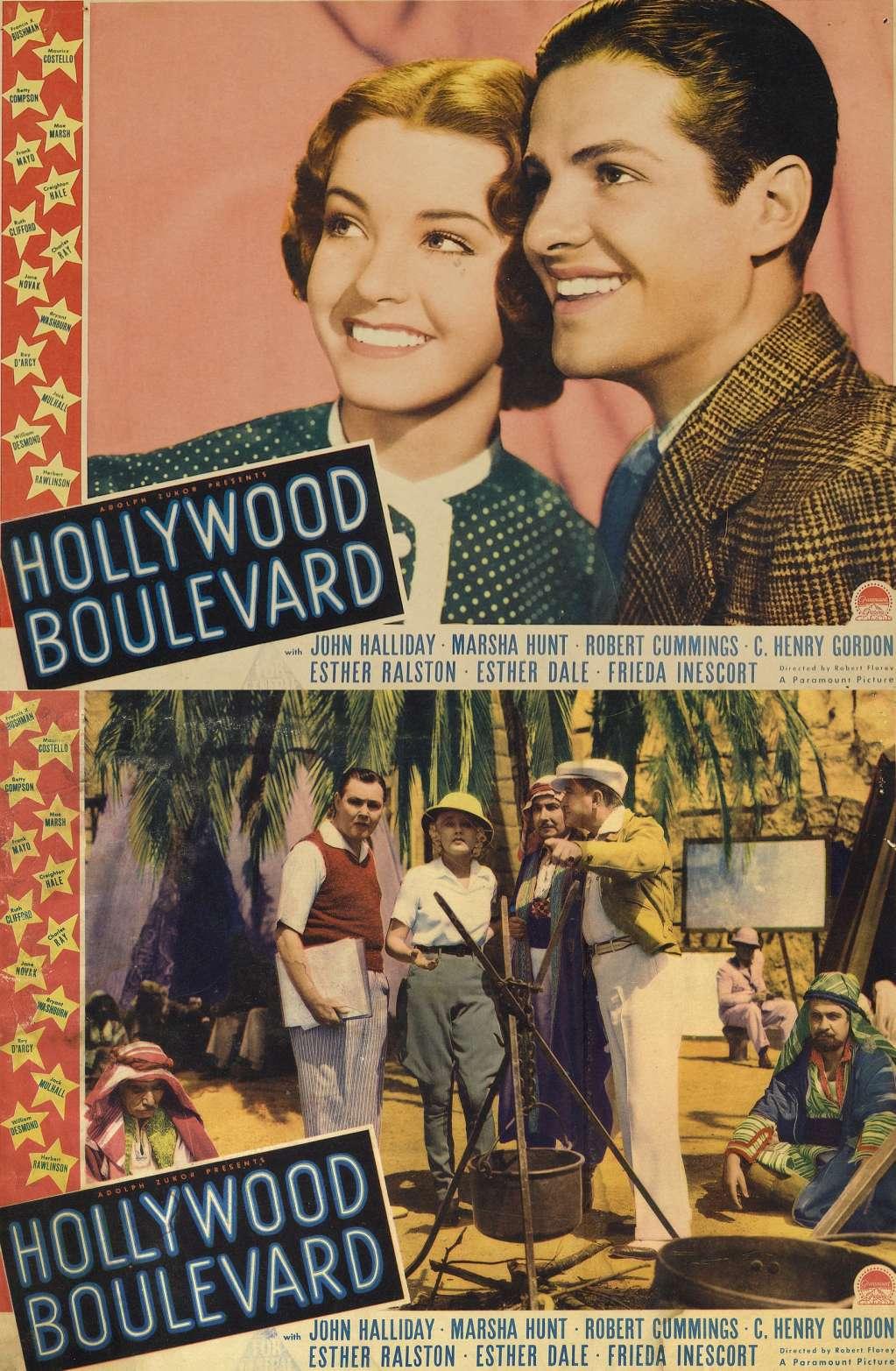 Hollywood Boulevard kapak