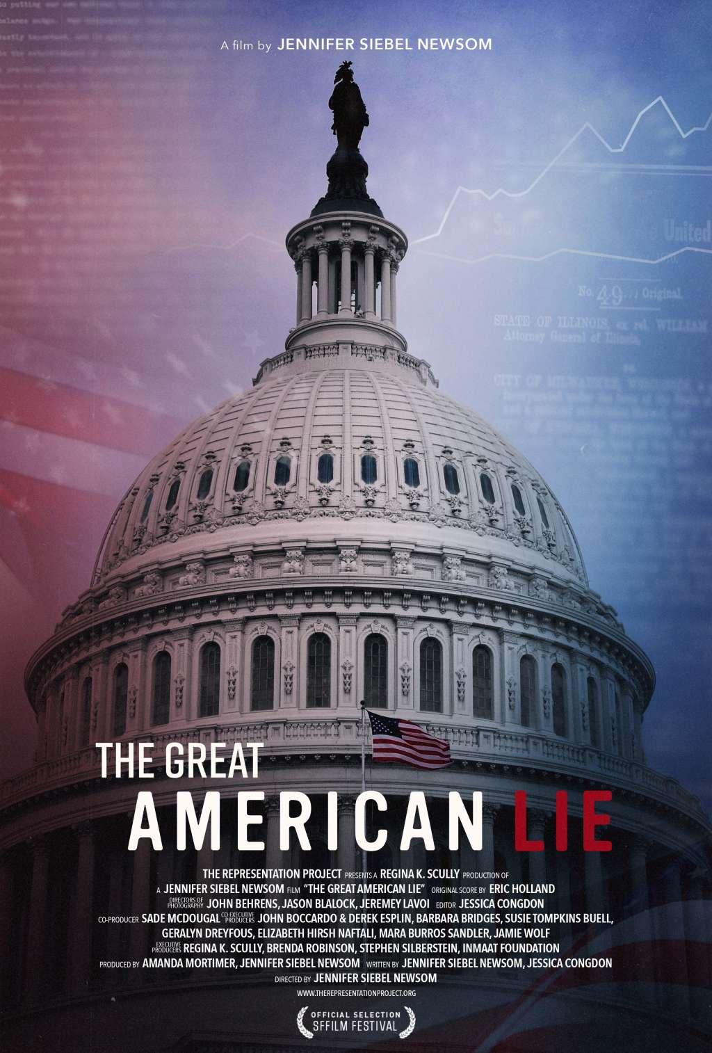 The Great American Lie kapak