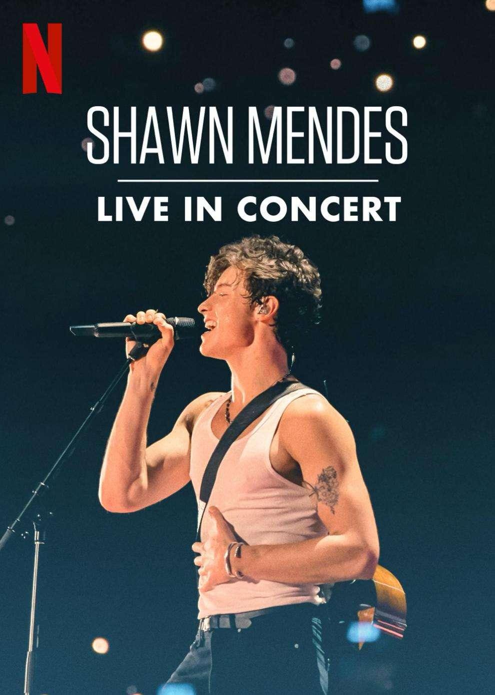 Shawn Mendes: Live in Concert kapak