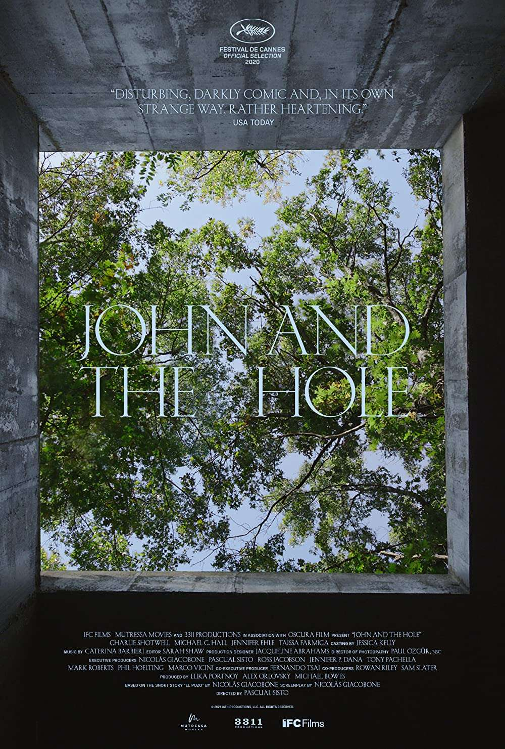 John and the Hole kapak