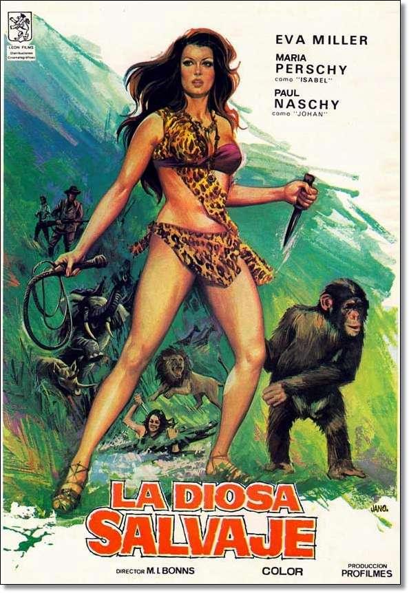 Kilma, Queen of the Jungle kapak