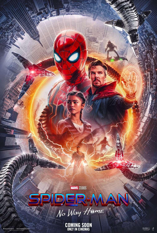 Spider-Man: No Way Home kapak