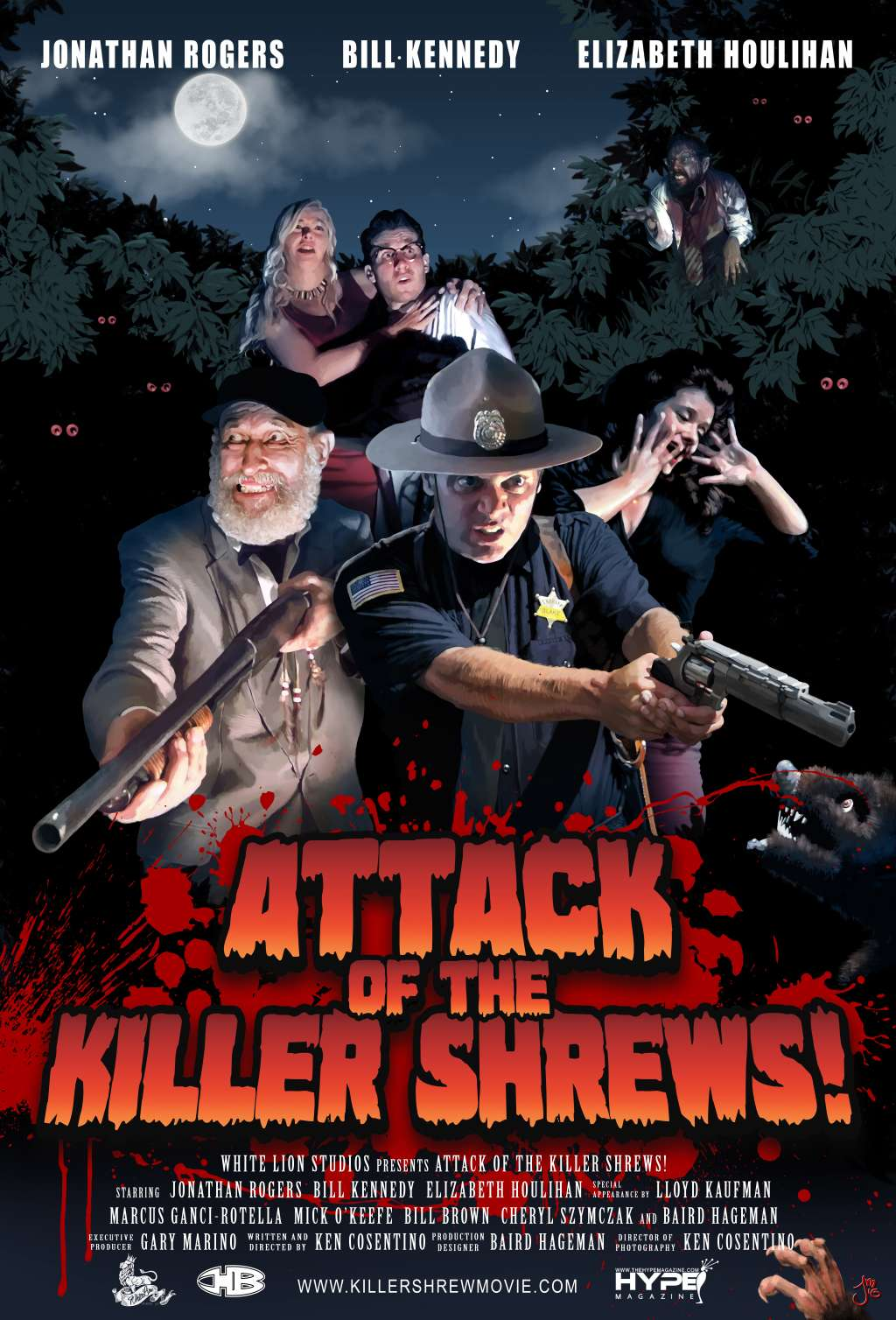 Attack of the Killer Shrews! kapak