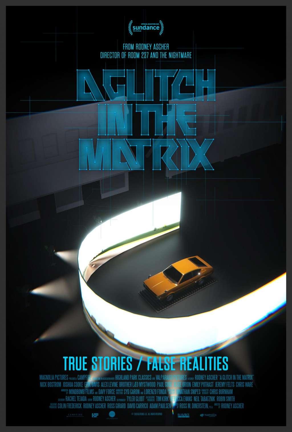 A Glitch in the Matrix kapak