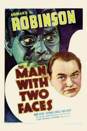 The Man with Two Faces kapak