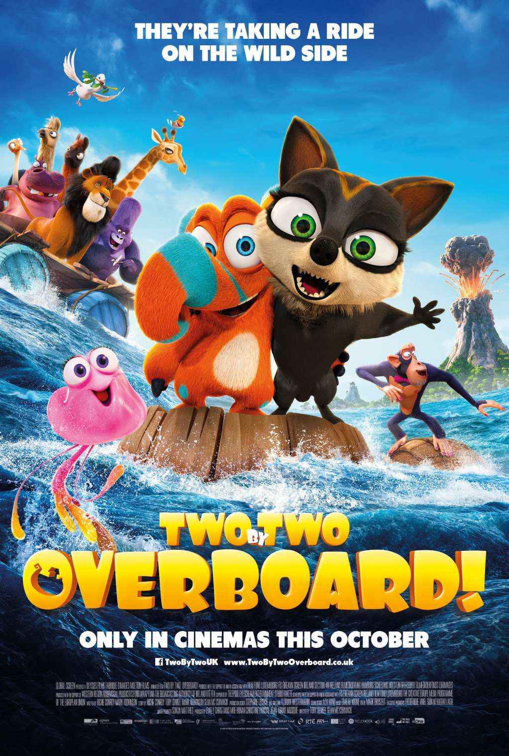 Two by Two: Overboard! kapak