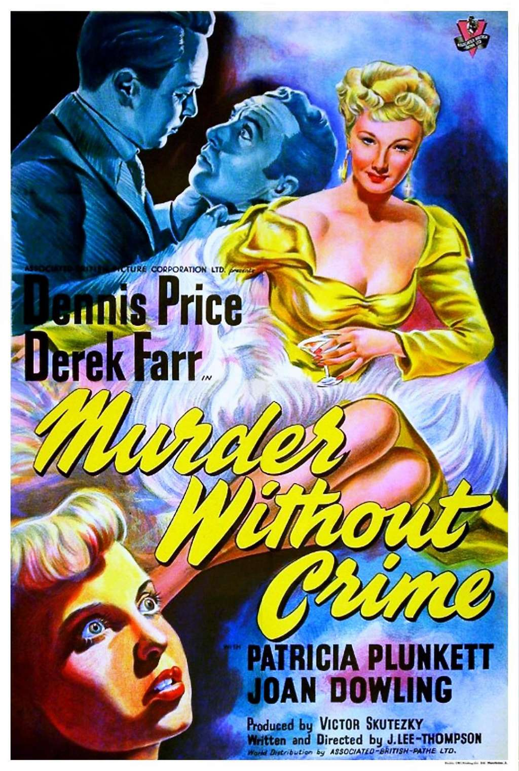 Murder Without Crime kapak
