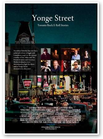 Yonge Street: Toronto Rock & Roll Stories kapak
