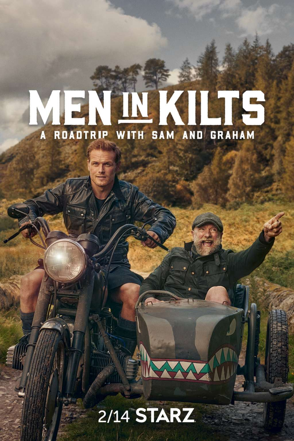 Men in Kilts: A Roadtrip with Sam and Graham kapak