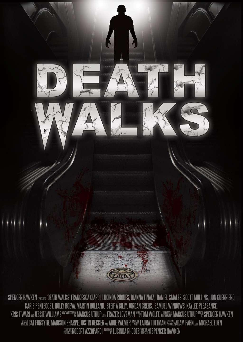 Death Walks kapak