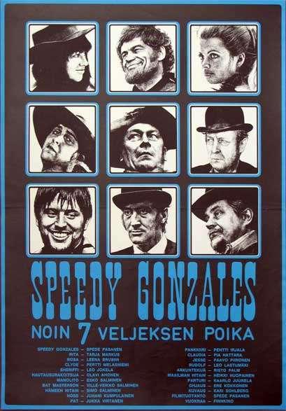Speedy Gonzales - noin 7 veljeksen poika kapak