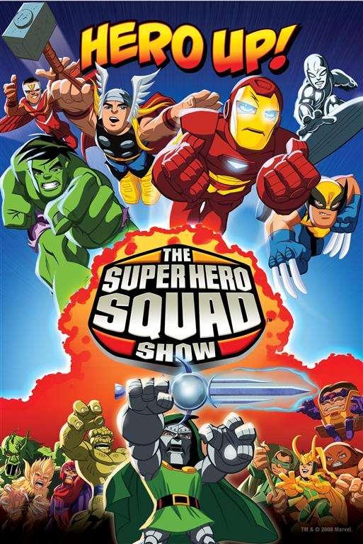 The Super Hero Squad Show kapak