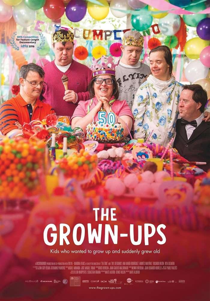 The Grown-Ups kapak