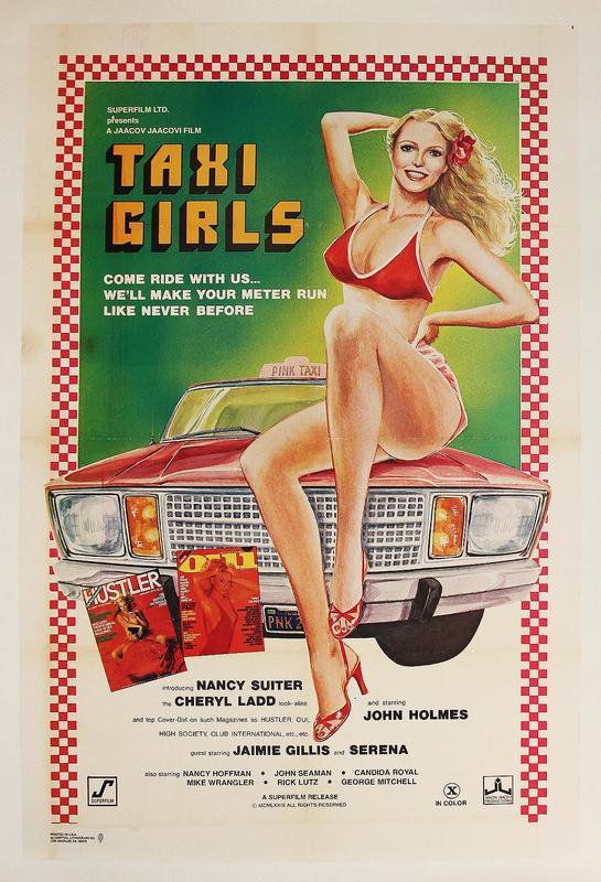 Taxi Girls kapak