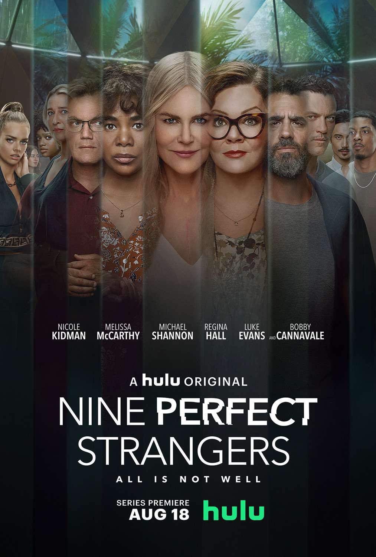 Nine Perfect Strangers kapak