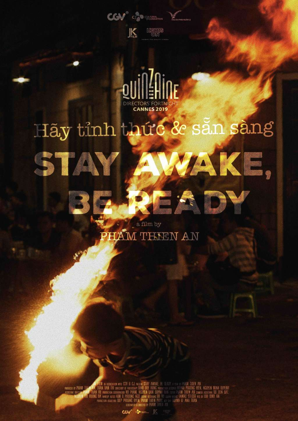 Stay Awake, Be Ready kapak