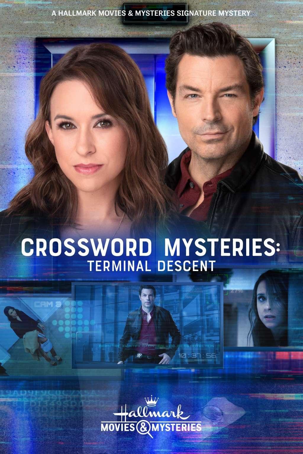 Crossword Mysteries: Terminal Descent kapak